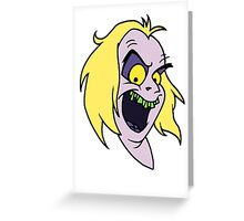 Beetlejuice - Beetlejuice 02 - Head Only Greeting Card