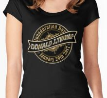 President Elect Donald Trump Inauguration Day January 20th 2017 Women's Fitted Scoop T-Shirt