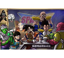 DBZ Abridged Spacey's Photographic Print