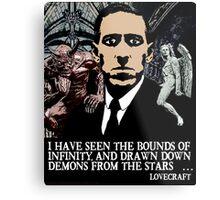 LOVECRAFT DEMONS Metal Print