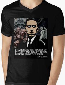 LOVECRAFT DEMONS Mens V-Neck T-Shirt