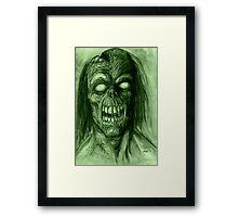 BLIND DEAD Framed Print