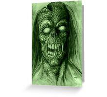 BLIND DEAD Greeting Card