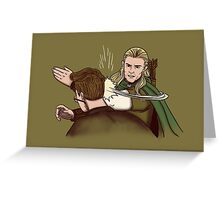 All Hail Legolas Greeting Card
