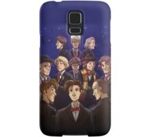 """Doctor Who Medley (""""50 Years of Doctor Who"""" without Captions) Samsung Galaxy Case/Skin"""