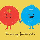 You are my favorite proton by Budi Satria Kwan