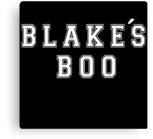 Blake's Boo - The Voice Canvas Print