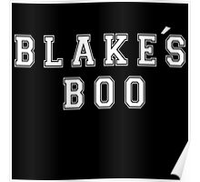 Blake's Boo - The Voice Poster