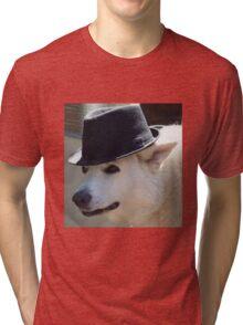 fedora dogo Tri-blend T-Shirt
