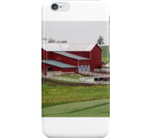 Amish Farm in Rural Ohio iPhone Case/Skin