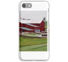 Amish Farm in Rural Ohio iPhone Case/Skin