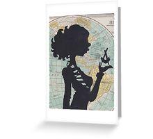 Maps pt 1 Greeting Card