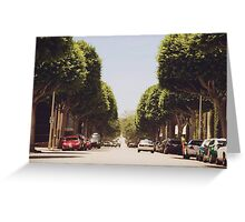 Infinity Drive  Greeting Card