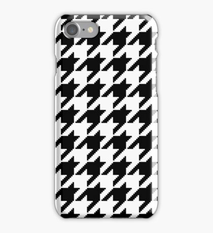 Houndstooth Pixel Pattern – Phone Cases iPhone Case/Skin