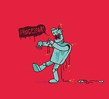 Zombie Robot by Budi Satria Kwan