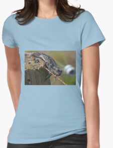 Fencing Lizard Womens Fitted T-Shirt