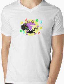 Dance Lizard Mens V-Neck T-Shirt