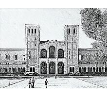 UCLA Photographic Print