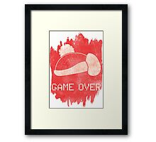 Game Over King DeDeDe Framed Print