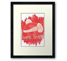 Game Over King DeDeDe Framed Print
