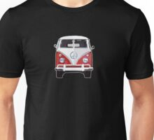 Splitty VW Bus Micro Front Red Unisex T-Shirt