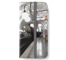 Cité  Metro Station - Paris. iPhone Wallet/Case/Skin