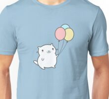 Cute Cat With Balloon Unisex T-Shirt