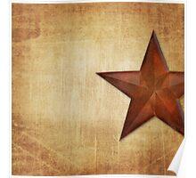 Barn Star Poster