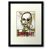 LOVECRAFT DREAMS Framed Print