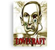 LOVECRAFT DREAMS Canvas Print