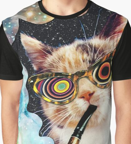 High Cat Graphic T-Shirt