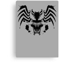 Rorschach Symbiote Canvas Print