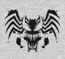 Rorschach Symbiote One Piece - Short Sleeve