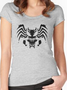 Rorschach Symbiote Women's Fitted Scoop T-Shirt
