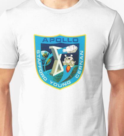 NASA Apollo Space Patch Unisex T-Shirt