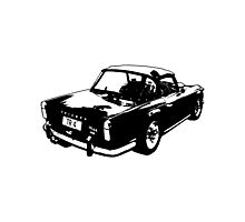 Triumph TR4a IRS Photographic Print