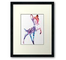 Space Bambi | Rosette Nebula Framed Print