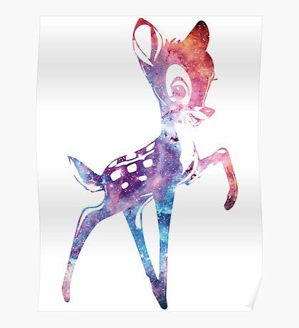 Space Bambi   Rosette Nebula Poster