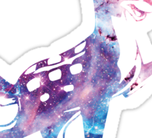 Space Bambi | Rosette Nebula Sticker