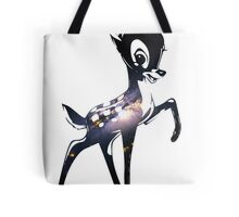 Space Bambi | Barred Spiral Galaxy Tote Bag