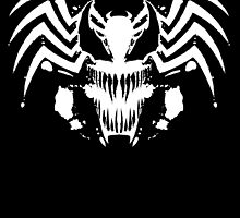 Rorschach Symbiote black by absolemstudio
