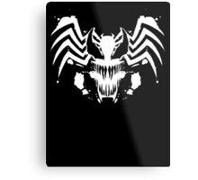 Rorschach Symbiote black Metal Print