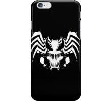 Rorschach Symbiote black iPhone Case/Skin
