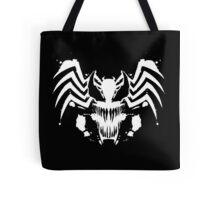 Rorschach Symbiote black Tote Bag