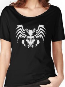 Rorschach Symbiote black Women's Relaxed Fit T-Shirt