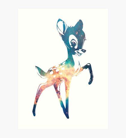 Space Bambi | Carina's Head Nebula Art Print
