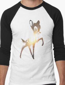 Space Bambi | Leo Men's Baseball ¾ T-Shirt