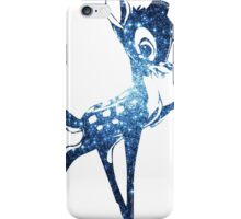 Space Bambi   Blue Cluster Galaxy iPhone Case/Skin