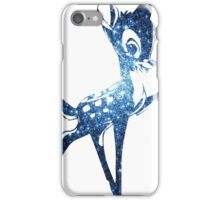 Space Bambi | Blue Cluster Galaxy iPhone Case/Skin