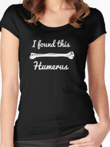Funny Science Pun  Women's Fitted Scoop T-Shirt